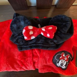 Other - Cozy Minnie Mouse Robe